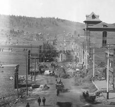 1896 cripple creek after the fire