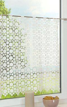 Scheibengardinen   Fensterdekoration Mit Bistrogardinen Im Raumtextilienshop