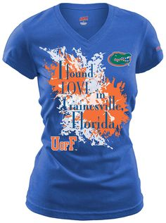 I found love in Gainesville, Florida. Go Gators!
