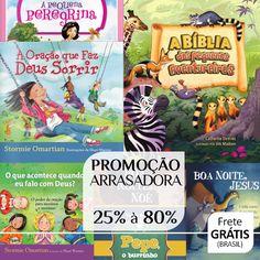 Livros e Bíblias Infantis - Agrade a criançada aproveitando a Promoção Arrasadora 25% à 80%