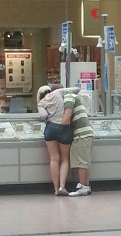 Wedding Rings at Walmart - Propose & Stick a Ring Down Her Pants - Couple Fail - Funny Pictures at Walmart