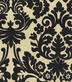 Home Decor Fabric-Waverly Harmonics Essence Onyx & home decor print fabric at Joann.com