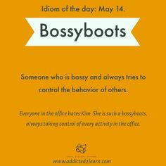Idiom of the day: Learn Idioms every day - May series - Advanced English Vocabulary, Learn English Grammar, English Writing Skills, English Idioms, English Language Learning, English Phrases, Learn English Words, Slang English, English Vinglish