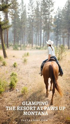The best place for glamping in Montana is The Resort at Paws Up. Boasting …, … Der beste Ort für Glamping in Montana ist The Resort at Paws Up. Prahlerei …, - Art Of Equitation Horse Love, Horse Girl, Foto Cowgirl, Western Riding, Ranch Life, Le Far West, Horse Pictures, Horse Photos, Horse Photography
