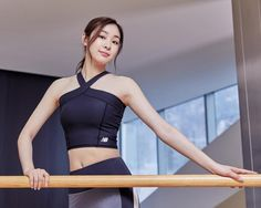 New Balance Korea, Kim Yuna, Yoga Pants Outfit, Sport Girl, Figure Skating, Fitness Fashion, Cute Girls, Asian Girl, Fitness Motivation
