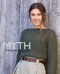 Myth by Kim Hargreaves. Twelve soft and squidgy knitwear designs to keep you snug as a bug this winter. See our great prices and fast service. Knitting Books, Crochet Books, Easy Knitting, Knit Crochet, Knitting Patterns, Knitting Projects, Rowan Knitting, Knitting Kits, Rowan Felted Tweed
