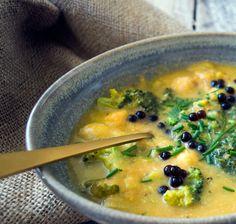 Grøntsagssuppe med Perler