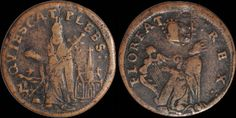 O'Brien Coin Guide: The 'Anonymous' St Patrick's Halfpennies King David, Saint Patrick, Harp, Reptiles, Cathedral, Coins, Brown, San Patrick, Rooms