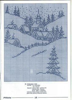 `Kruissteekpatroon, kan gebruikt worden voor filethaken.