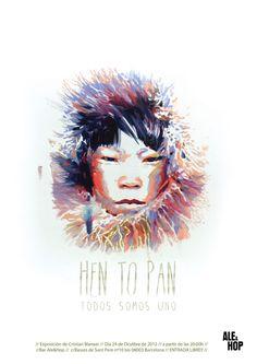 """""""Hen To Pan"""" (Todos Somos Uno) by Cristian Blanxer, via Behance"""