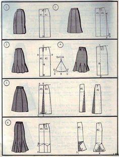 Skirt styles n pattern 12