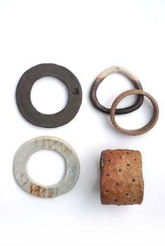 Jujumade ceramic bracelets by Julie Hung