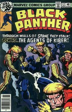 """Black Panther vol. 1 # """"The Kiber Clue"""" (November, Cover by Jack Kirby. Captain America Comic Books, Marvel Comic Books, Comic Books Art, Comic Art, Marvel Art, Marvel Room, Marvel Heroes, Black Panther Comic Books, Black Panther Marvel"""