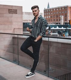 50 best spring outfits casual menswear mens fashion & mens f White Polo Shirt Outfit, Tucked In Shirt Outfit, Polo Shirt Outfits, Outfit Jeans, Casual Outfits, Men Casual, Beach Outfits, Casual Menswear, Men's Outfits