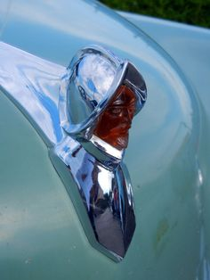 1950 DeSoto - hood ornament (vintage car)