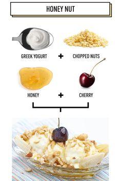 Honey Nut: 5 Amazing Breakfast Banana Splits