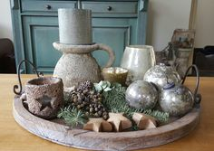 Christmas Home, Candle Holders, Table Settings, Candles, Table Decorations, Furniture, Home Decor, Decoration Home, Room Decor