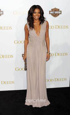 Gabrielle Union in Issa #fashion #redcarpet #dress