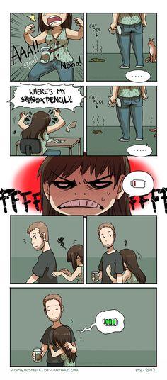 Mini Comics :: Bad Day | Tapastic Comics