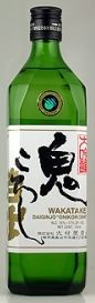"Wakatake Junmai Daiginjo ""Onokoroshi"" (Demon Slayer) Super Premium Pure Rice Sake... it has an elegant aroma and is moderately dry... goes with a wide range of foods (and especially spicy foods)..."