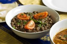 """Chickpeas """"Rawalpindi Channa"""" is a delicious and satisfying vegetarian dish."""