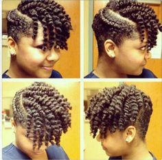 Very cute twist out
