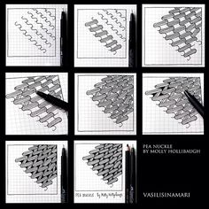 Zentagle Patterns how to