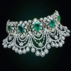 Emerald Jewelry Art Deco Emerald and Diamond Flower Basket Necklace An Emerald & Diamond Ring An Emerald & Diamond RingAn emerald and Emerald Jewelry, Diamond Jewelry, Gold Jewelry, Fine Jewelry, Jewelry Necklaces, Emerald Bracelet, Diamond Rings, Jewelry Art, Jewelry Accessories