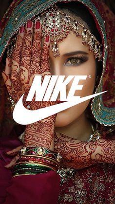 Nike Indian Girl Wallpaper - Nike Indian Girl iPhone 6 Plus Wallpaper…