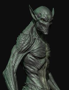 Prowler by Zac Berry Zbrush Character, Alien Character, Character Art, Character Design, Creature 3d, Creature Concept Art, Creature Design, Aliens, Alien Creatures
