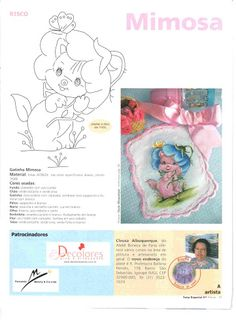 Coleção Susy - Pintura em tecido Especial Medalhões - Rosana Mello - Picasa Web Albums