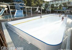 Ultra Glide Technology Synthetic Ice Rink, Ice Skating, Technology, Outdoor Decor, Feels, Tech, Tecnologia, Skating