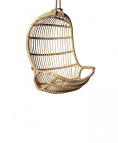 Serena & Lily Hanging Rattan Chair ($450)