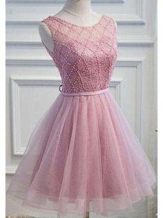cute lace short homecoming dress sleeveless short prom dress