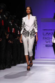 Narendra Kumar & Asmita Marwa Collection at Lakme FW 2013 on Day 1