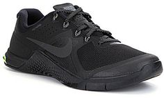 From Nike, the Metcon 2 men's training shoes feature: patented Flywire technology upper for customized lockdown and fit lace-up closure dual-density midsole for heel stability and forefoot flexibility midfoot rubber wrap for rope abrasion protection sticky rubber forefoot for traction firm rubber heel for stability Imported.