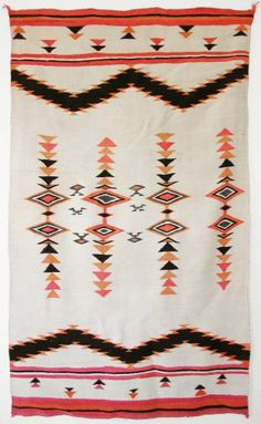 Navajo Transitional textile c. 1900
