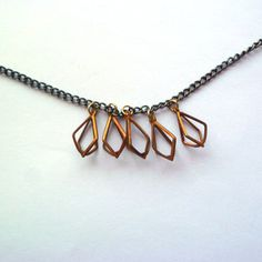 Five Of Diamonds Necklace now featured on Fab.
