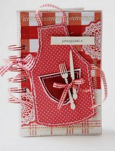 Idea: originally a Recipe book - use as invitation