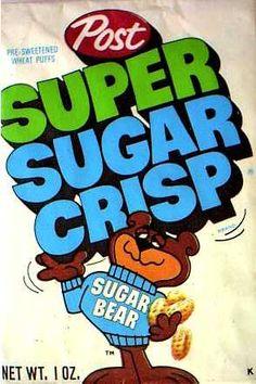 Super Sugar Crisp cereal  c. 1970
