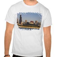 USA, Illinois, Chicago, City skyline with Adler T Shirt, Hoodie Sweatshirt