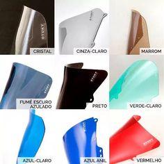 bolha alongada tenere 250 2011 até 2016 otuky 3mm mais cores