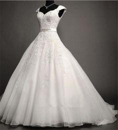 Condole belt wedding dresses,Luxury beads wedding dresses,Tulle Wedding