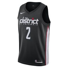 f40791e0f John Wall City Edition Swingman (Washington Wizards) Men s Nike NBA  Connected Jersey