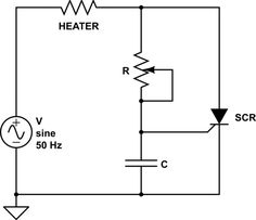 How to use #SCR to control the power of a heater. #Electronicsprojects #Electricalprojects #Elprocus