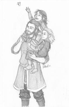 Thorin, Fili, and Kili <3 pardon me while I go cry in a corner @Allie Hamilton