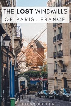 Searching for the lost windmills of Paris. If you're looking for an off the beaten path activity in the French capital city, then you need to look no further than the moulins of Montmartre!