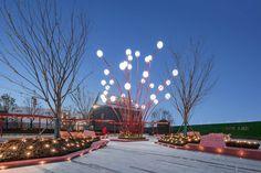 Hefei Wantou & Vanke Paradise Art Wonderland by ASPECT Studios « Landscape Architecture Works | Landezine