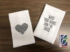 Guest Ready Bathrooms with Kleenex Hand towels Diy Holder Kitchen Post, Kitchen Dishes, Kitchen And Bath, Kitchen Ideas, Hand Towels Bathroom, Kitchen Hand Towels, Bathroom Mirrors, Bathroom Ideas, Bathrooms