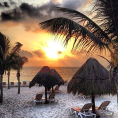 Beautiful #sunrise at Excellence Playa Mujeres. #Cancun